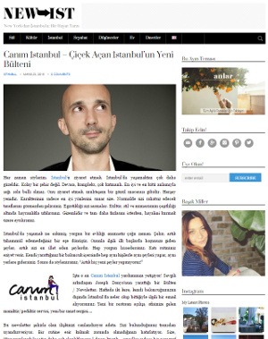 Canım istanbul new-ist'te