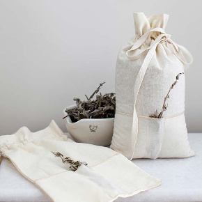Soft fabric bags by Homemade Aromatherapy