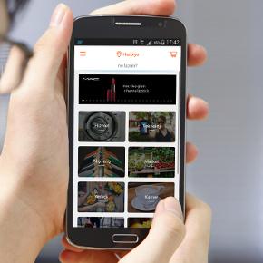 Screenshot of KapGel menu screen