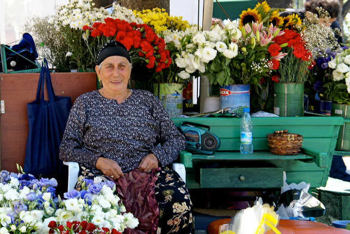 Istanbul scam by flower ladies