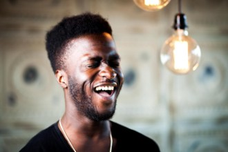 Kwabs laughing