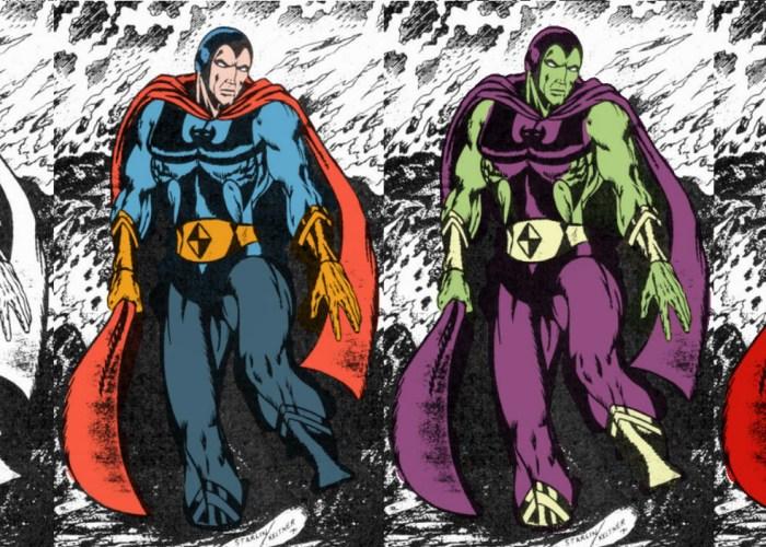CIBASS Evolución de los diseños a partir del personaje base de Starlin