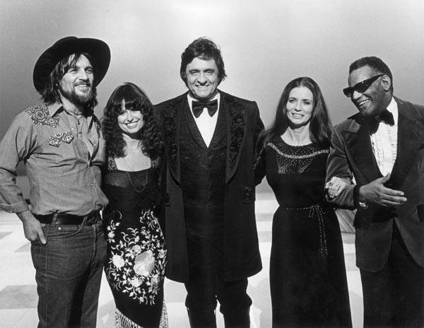 CIBASS Johnny Cash con Ray Charles