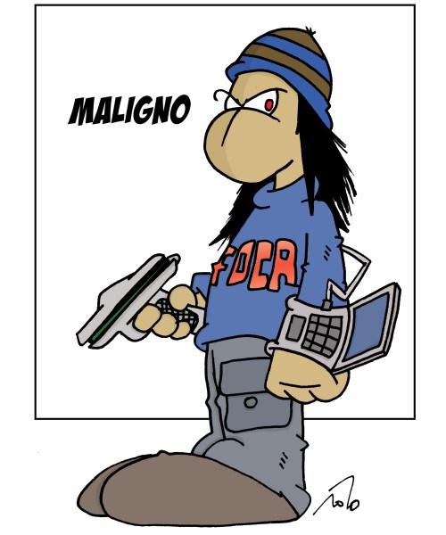 CIBASS Chema Alonso, el Maligno por Cels Piñols