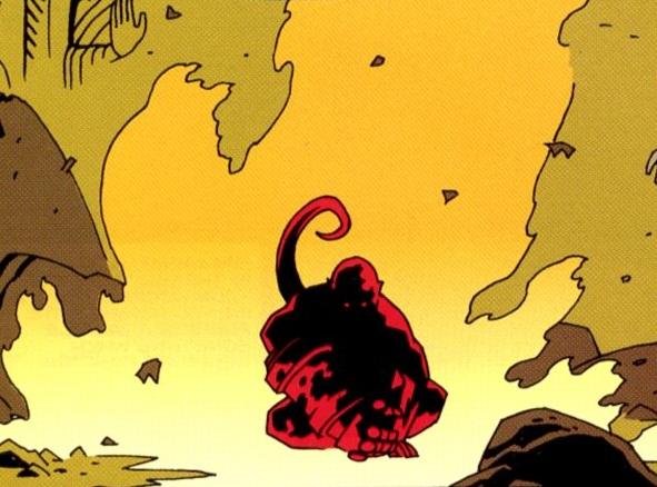 CIBASS Llegada de Hellboy a la Tierra