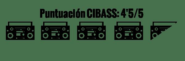 CIBASS Puntuación CIBASS Cuatro puntos y medio