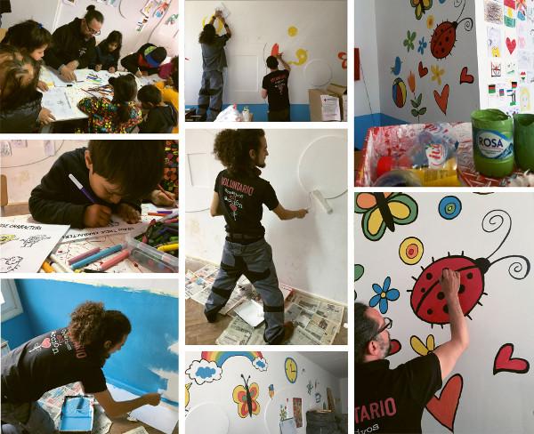 Imágenes de la última acción solidaria de Creativos en Acción en el campo de Pirot (Serbia)