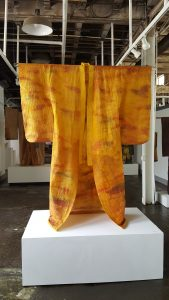 Kimono by Julie McLaughlin, from Imagined Garment, Imagined Ground, at the Morgan Conservaory