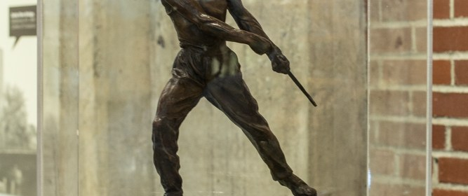 The Steel Rougher (1826), by Max Kalish. Photo courtesy of Glenn Koehler / NMIH