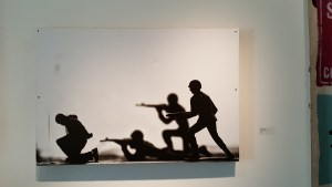 Photo on plywood panel by Donald Black Jr