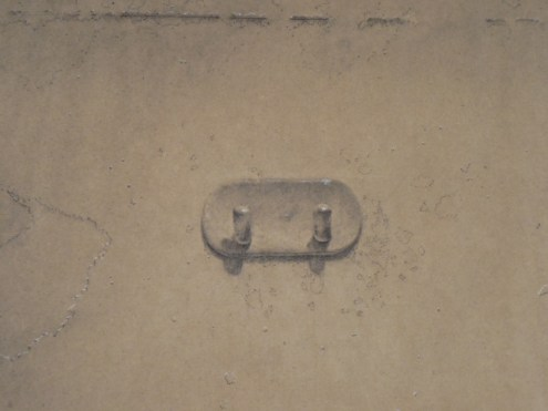 """Dennis Long, detail from """"Texture"""" or """"The Wall"""" or """"The State of Things."""" Charcoal on paper."""