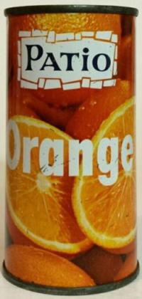 PATIO-Orange soda-284mL-Canada
