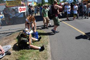 """Volunteer Powered Seattle Hempfest.  """"There is no nation like donation"""""""