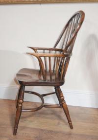 8 Antique Windsor Kitchen Dining Chairs Set | eBay