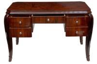 Art Deco Writing Table Desk Dressing Tables Bureau Office ...