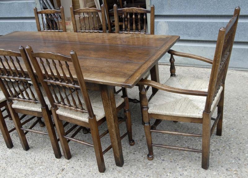 photo english oak rustic refectory table kitchen diner tables table rustic tables kitchen kitchen diner tables mefunnysideup