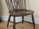 Pair Windsor Chairs Farmhouse Oak Kitchen Chair Ebay