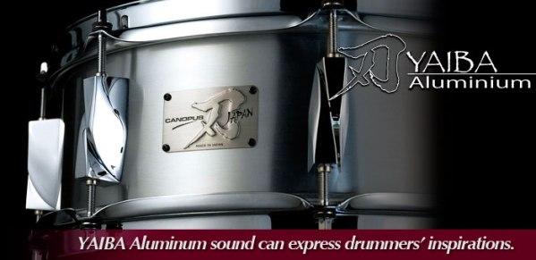 """""""YAIBA"""" Aluminium Snare Drum"""