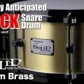 [Solid Metal] 3mm Brass Snare Drum