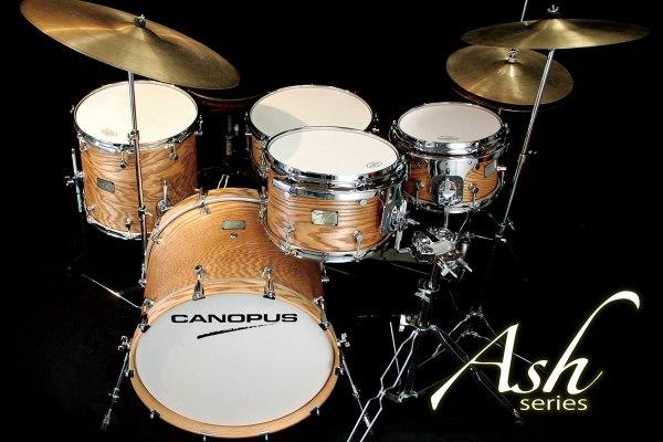Ash drum kit