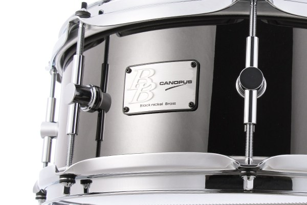 Black Nickel Brass Snare Drum