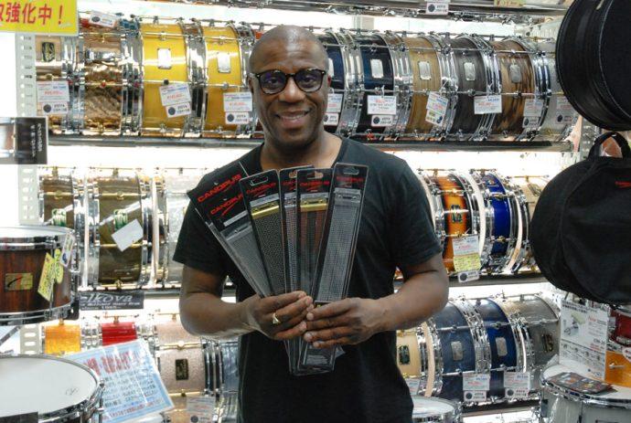 New accessory endorser : Derrick McKenzie (Jamiroquai)