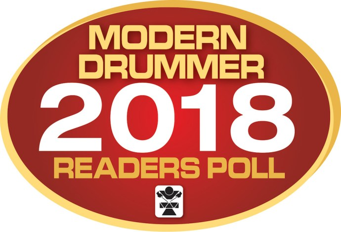 Jonathan Barber is nominated on Up & Coming section of Modern Drummer Readers Poll 2018