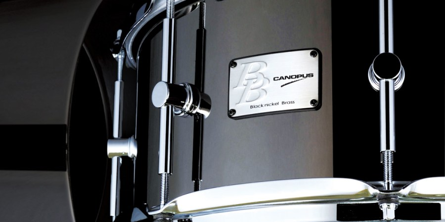 Black Nickel Brass Snare Drum ブラックニッケルブラス スネアドラム