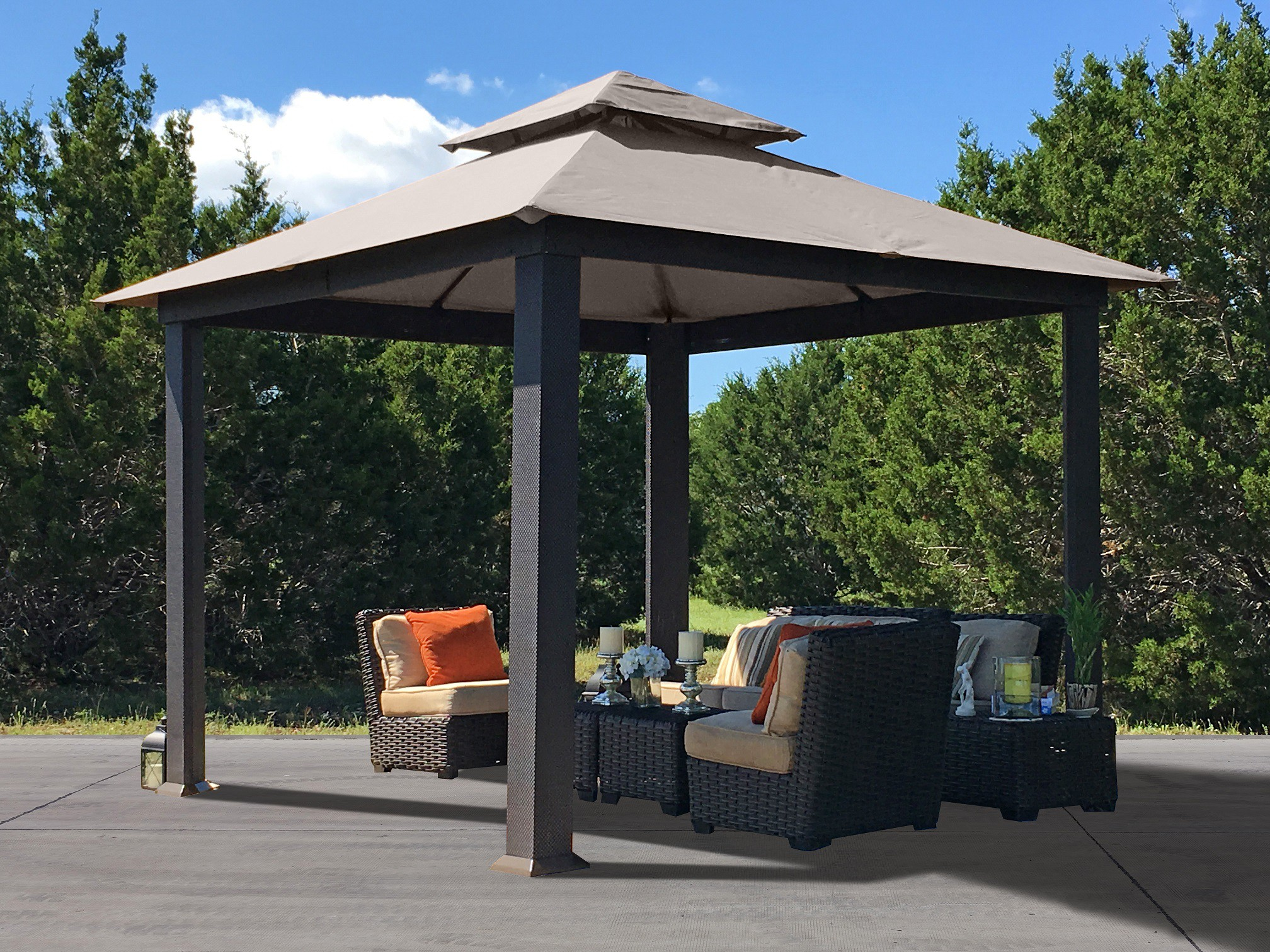 Portable Carport Costco Outdoor Canopies Pop Up Canopy Portable Shade Carports