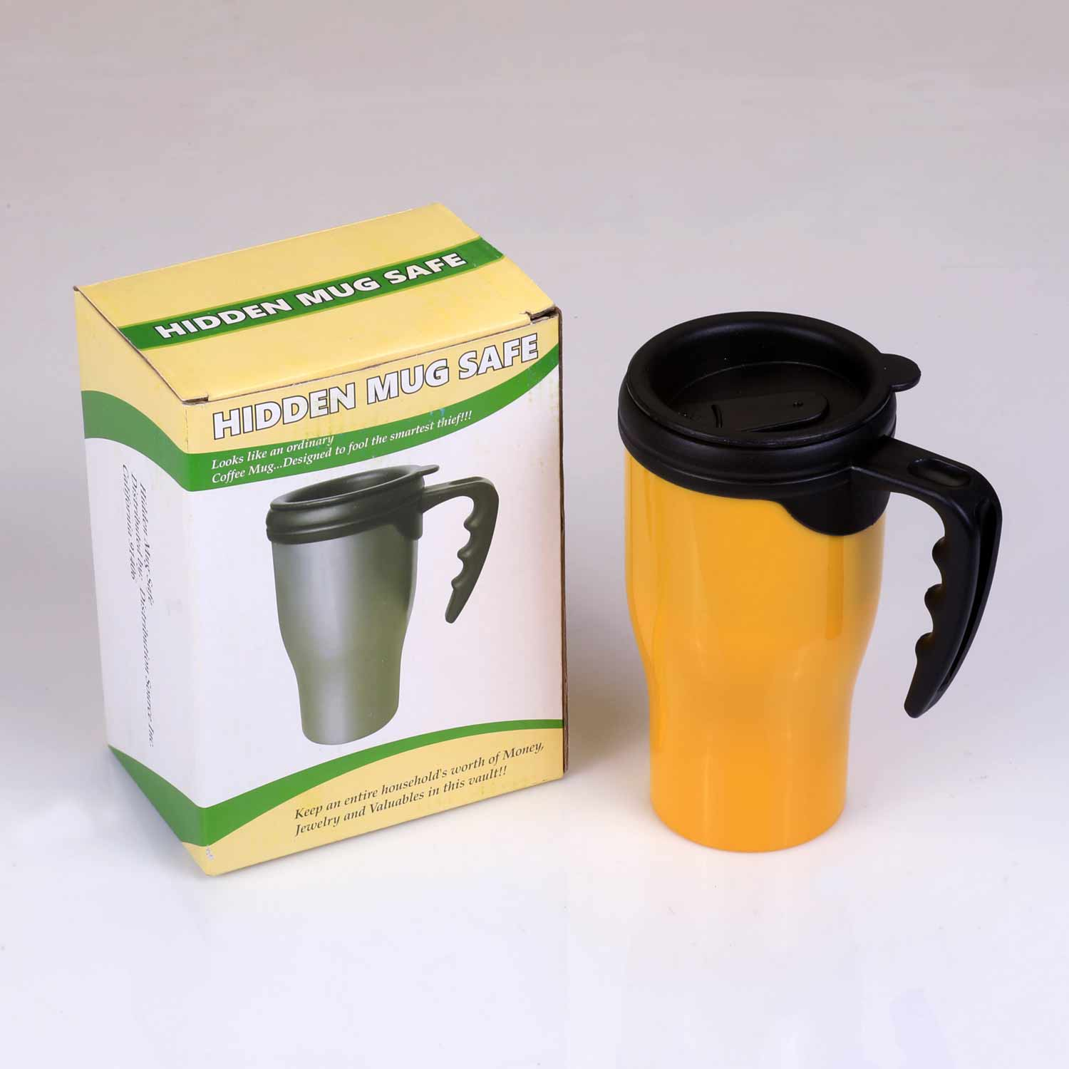 Speciality Coffee Mugs Coffee Travel Mug Yellow Diversion Safe Southwest