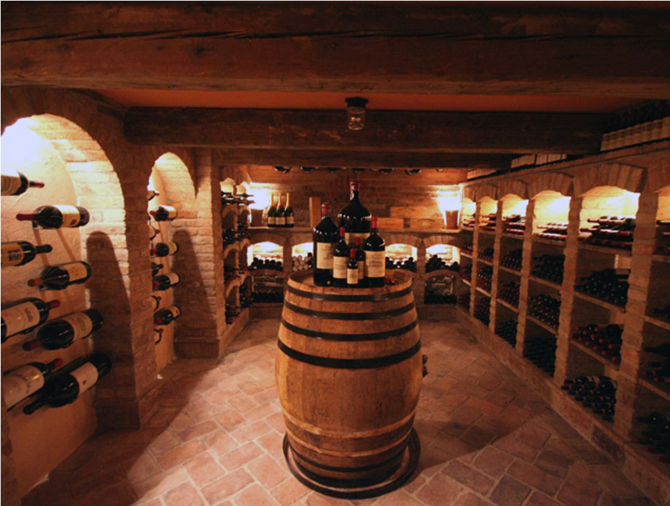 Cave A Vin Eclairage Led Cantina Vino