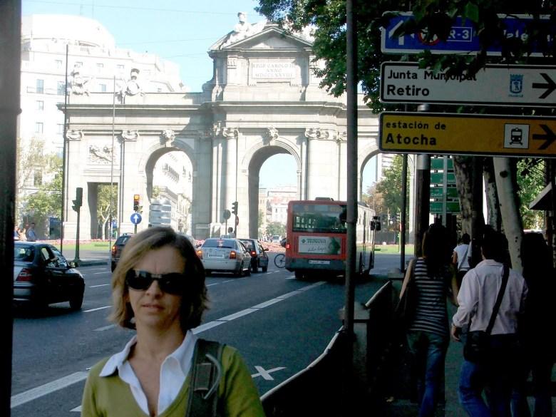Como vimos Madrid em 2 dias Eu Puerta de Alcala
