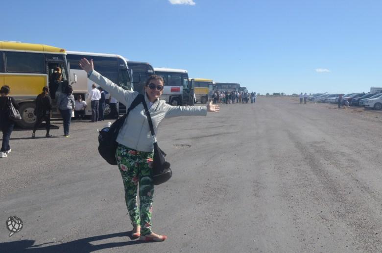 GC West estacionamento onibus