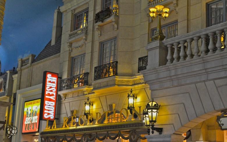 Paris Hotel entrada lobby