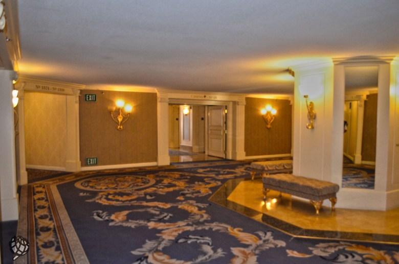 Paris Hotel hall de entrada