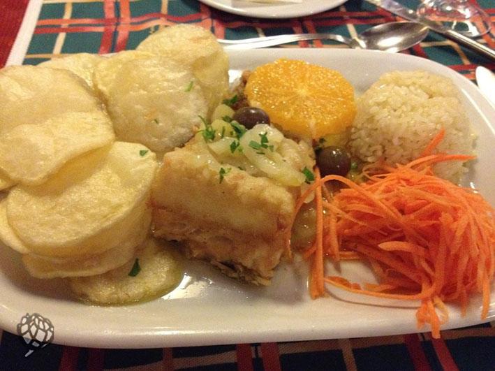 Grand Elias Restaurante bacalhau surpresa