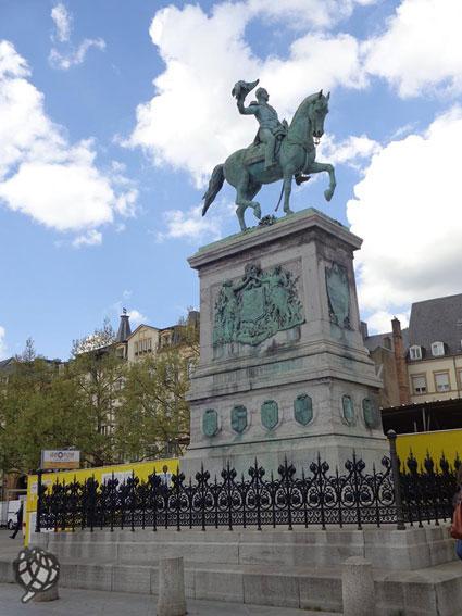 Luxemburgo-Praça-Guilherme-II
