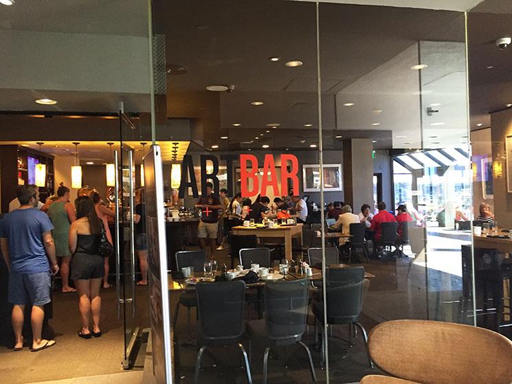 hotel em Boston restaurante