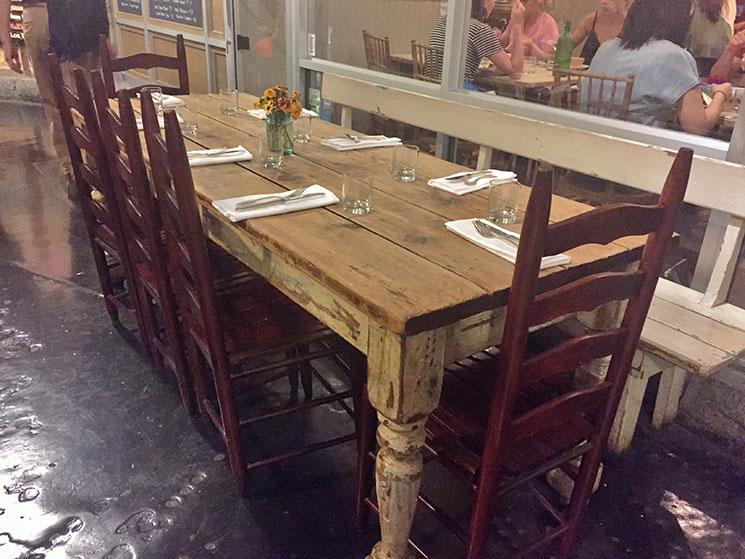 Restaurante do Chelsea Market