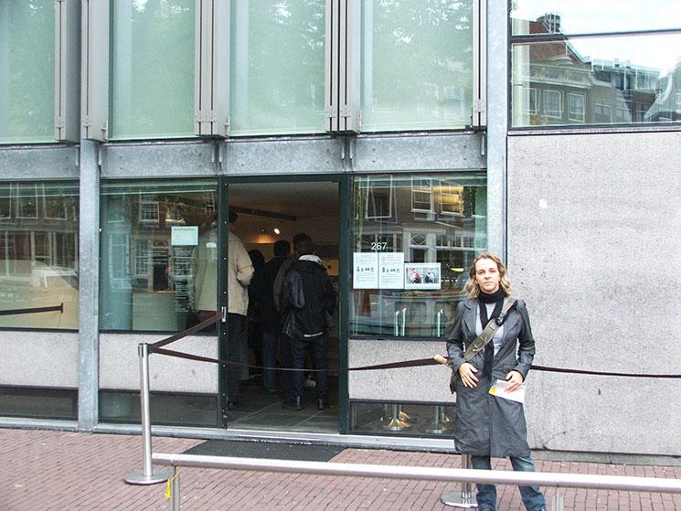Fachada do Museu de Anne Frank em Amsterdam