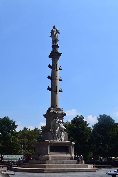 Monumento de Cristóvão Colombo no Columbus Circle