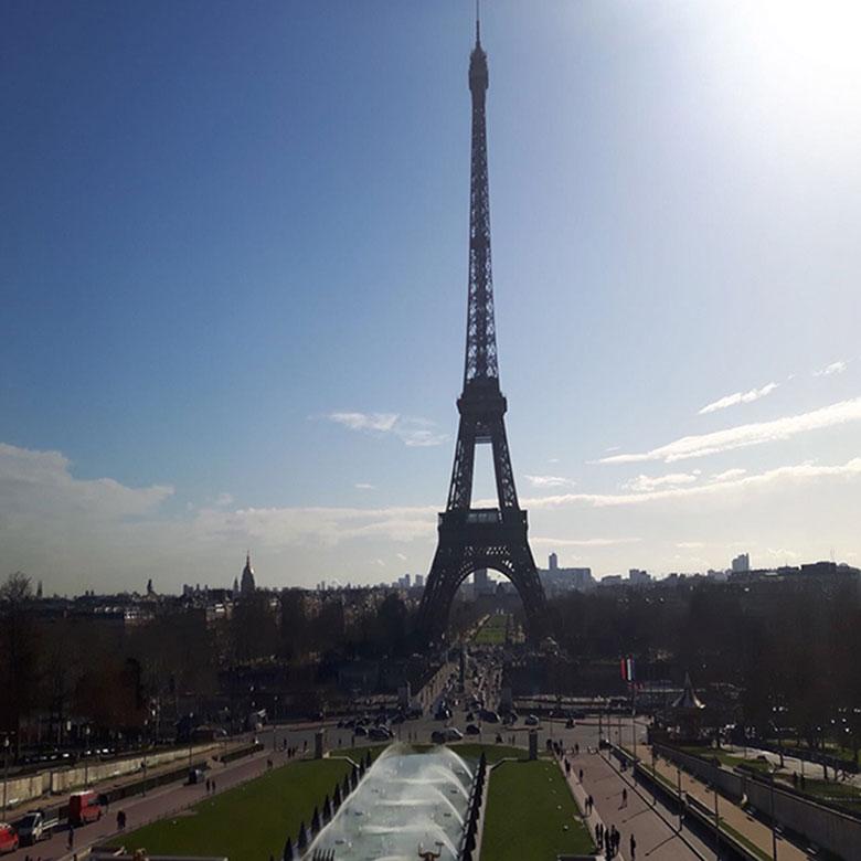 Torre Eiffel vista do Trocadero