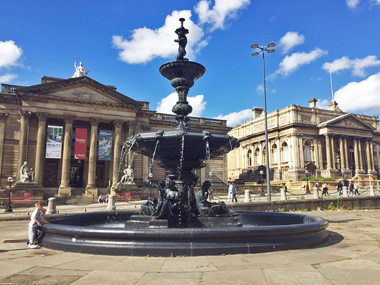 The Walker Art Gallery em Liverpool