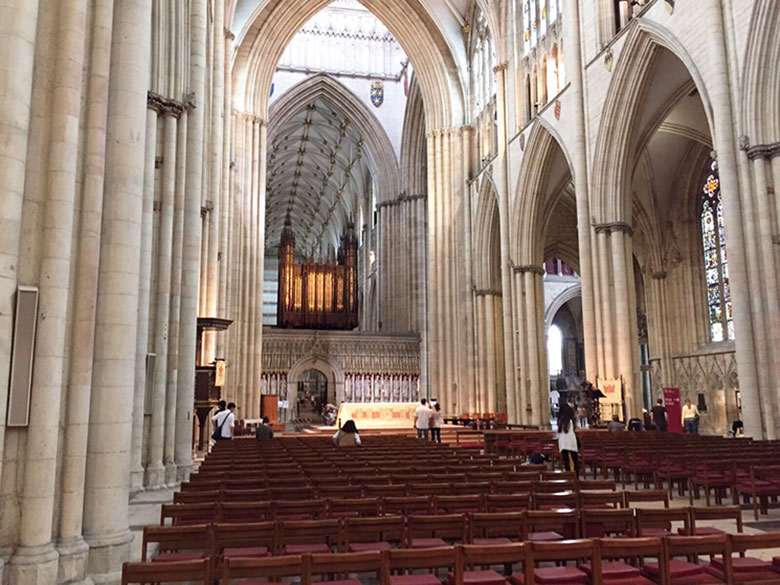 Interior da Catedral de York