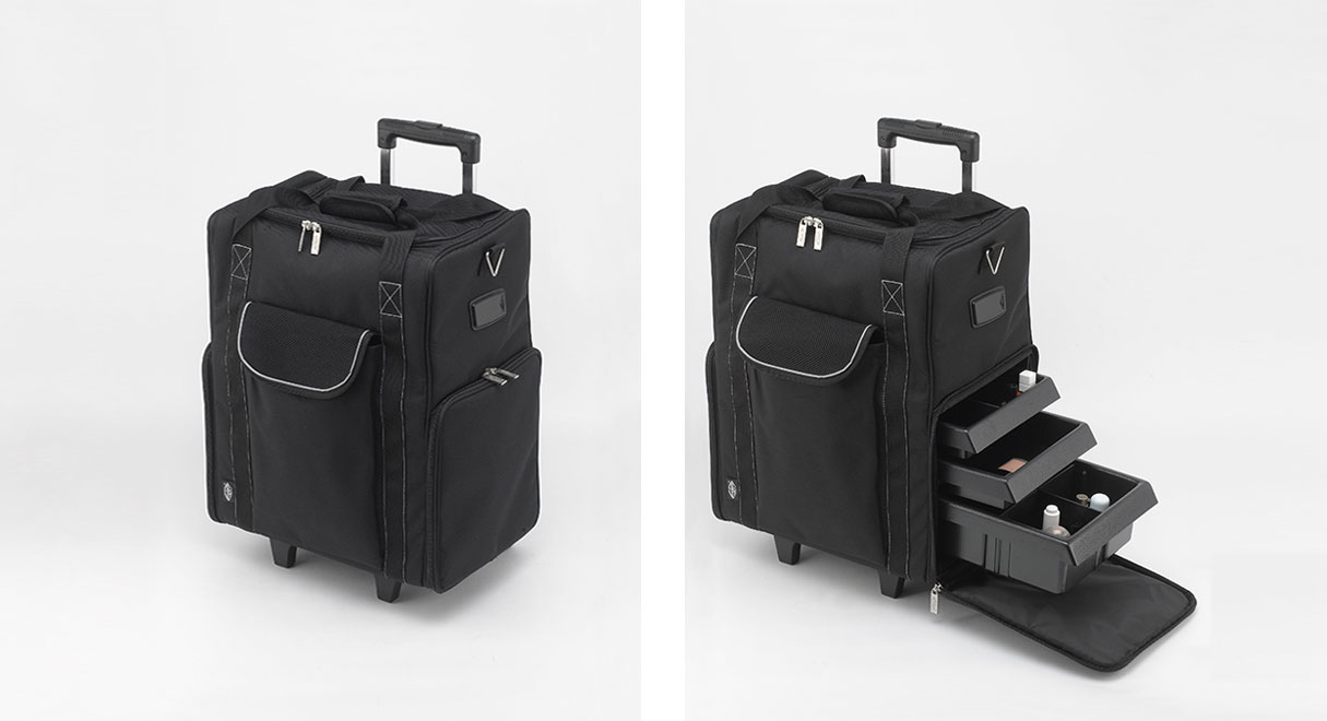 Beauty Trolleys Thermal Makeup Boxes And Cosmetic Trolley Case