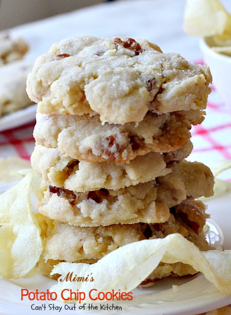 Potato Chip Cookies With Pecans