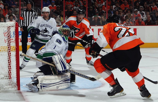 Vancouver Canucks vs. Philadelphia Flyers