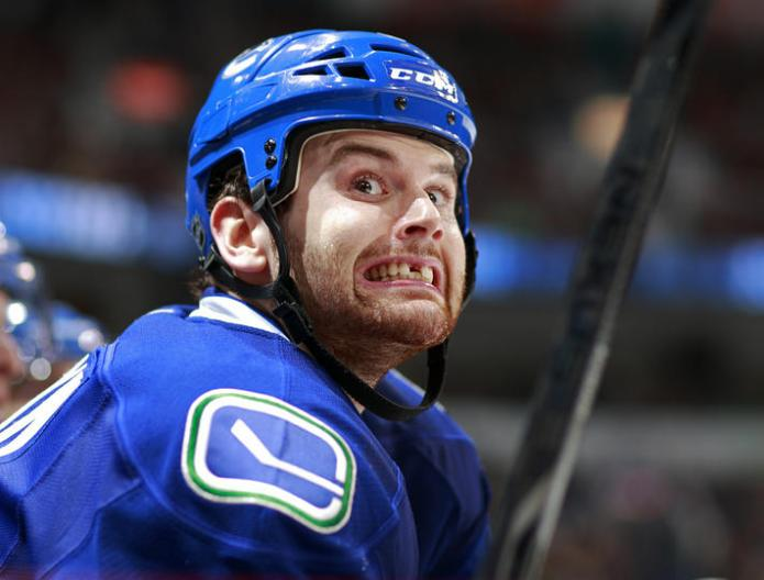 The Sedins and Kesler get plenty of attention, it's time for Kassian's closeup.  (Credit canucks.nhl.com)