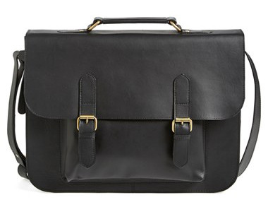 Topman Leather Satchel