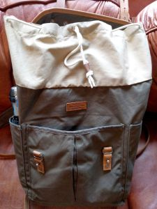 Fjallraven Rucksack no 21 draw string